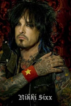 Nikki Sixx on Amazon