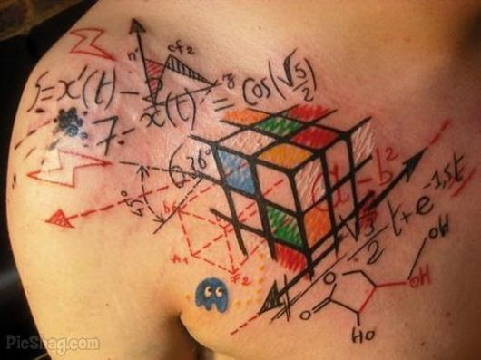 In Which Science And Body Art Intersect: Tattoos of the Science Obsessed